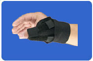 Santa Barbara Thumb Splint by Hely Weber.