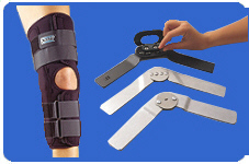 Knapp Knee Orthosis with your choice of hinge.
