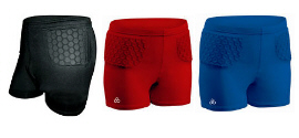 Padded Volleyball Shorts helps with hip pointers.